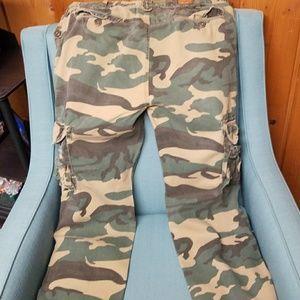 39f8ab1ab2 decibel Pants - Decibel army fatigue pants